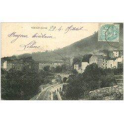 carte postale ancienne 20 CORSE. Venaco 1905