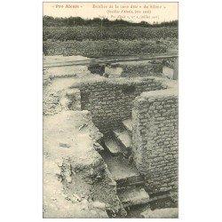 carte postale ancienne 21 ALESIA. Escalier cave du Silène