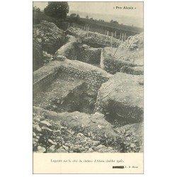carte postale ancienne 21 ALESIA. Logettes du Théâtre
