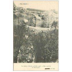 carte postale ancienne 21 ALESIA. Mur hémicycle du Théâtre