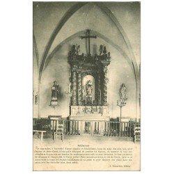 carte postale ancienne 21 ANTIENNE. La Vierge 1908. Selonguy