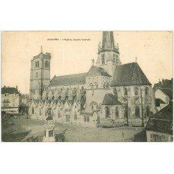 carte postale ancienne 21 AUXONNE. L'Eglise 1910