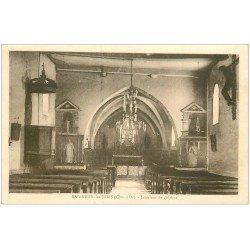 carte postale ancienne 21 BAIGNEUX-LES-JUIFS. L'Eglise