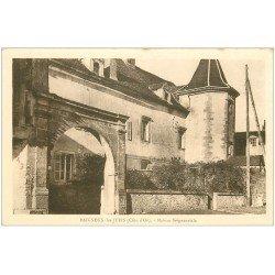 carte postale ancienne 21 BAIGNEUX-LES-JUIFS. Maison Seigneuriale