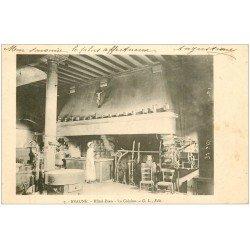 carte postale ancienne 21 BEAUNE. Hôtel-Dieu. La Cuisine 1903
