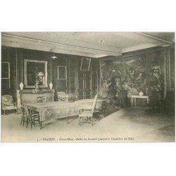 carte postale ancienne 21 BEAUNE. Hôtel-Dieu. Salle du Conseil