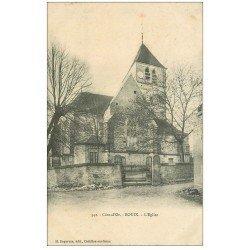 carte postale ancienne 21 BOUIX. L'Eglise 1907