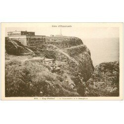 carte postale ancienne 22 CAP FREHEL. Fauconnière et Sémaphore
