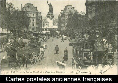 cartes postales anciennes françaises