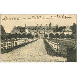 carte postale ancienne 22 CHATEAU DE BIEN-ASSIS enttre Pléneuf et Erquy 1914