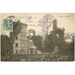 carte postale ancienne 22 CHATEAU DE LA GARAYE 1904