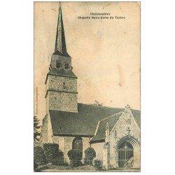 carte postale ancienne 22 CHATEAULAUDREN. Chapelle Notre-Dame du Tertre