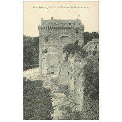 carte postale ancienne 22 DINAN. Château de la Duchesse Anne
