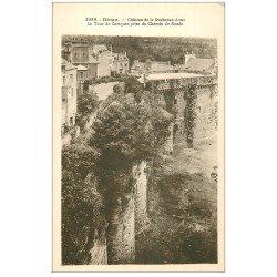 carte postale ancienne 22 DINAN. Château de la Duchesse Anne. Les Remparts 220