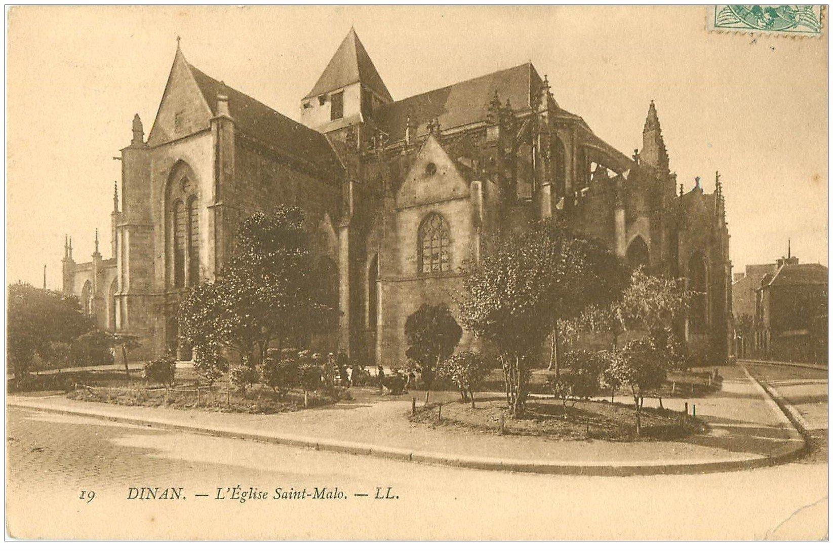 carte postale ancienne 22 DINAN. Château de la Duchesse Anne. Timbrée mais carte vierge...