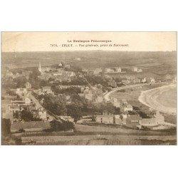 carte postale ancienne 22 ERQUY. La Grève du Camp de César 1923