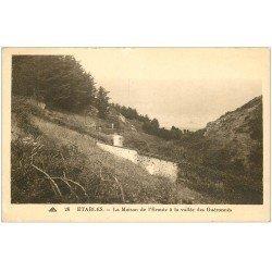 carte postale ancienne 22 ETABLES. La Plage du Moulin 1925