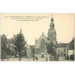 carte postale ancienne 22 DINAN. Eglise Saint-Sauveur 3319