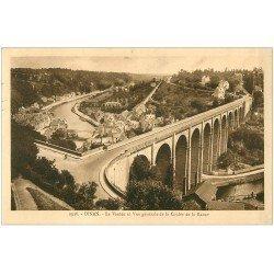 carte postale ancienne 22 DINAN. Le Viaduc 1936