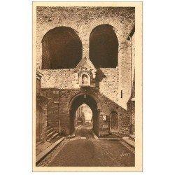 carte postale ancienne 22 DINAN. Porte du Jerzual 17