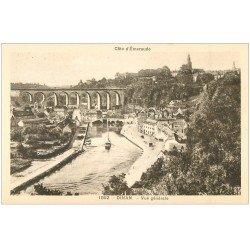 carte postale ancienne 22 DINAN. Vue générale n° 1852