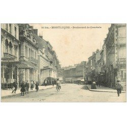 carte postale ancienne 03 MONTLUCON. Boulevard Courtais