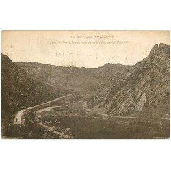 carte postale ancienne 22 GOUAREC. Gorges Sauvages du Longeau 1926