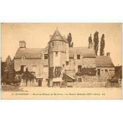 carte postale ancienne 22 GUINGAMP. Abbaye de Sainte-Croix Manoir 1933