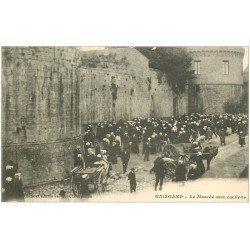 carte postale ancienne 22 GUINGAMP. Le Marché aux Cochons