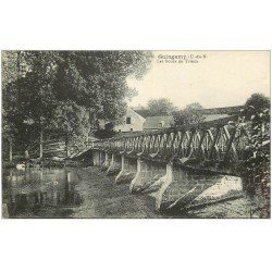 carte postale ancienne 22 GUINGAMP. Les Bords du Trieux
