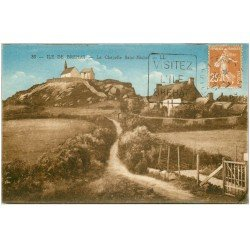 carte postale ancienne 22 ILE DE BREHAT. La Chapelle Saint-Michel 1927