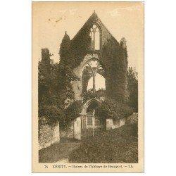 carte postale ancienne 22 KERITY. Abbaye de Beauport