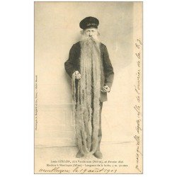 carte postale ancienne 03 MONTLUCON. La barbe de Louis Coulon mouleur 1903