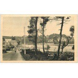 carte postale ancienne 22 PERROS-GUIREC. Route de la Plage de Trestraou
