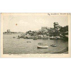 carte postale ancienne 22 PLOUMANACH. Chapeau de Napoléon 1947