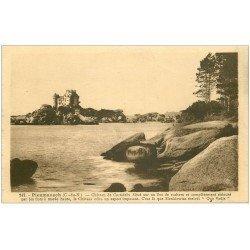 carte postale ancienne 22 PLOUMANACH. Château de Costaérès 1931