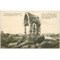 carte postale ancienne 22 PLOUMANACH. Oratoire de Saint-Guirec 1928