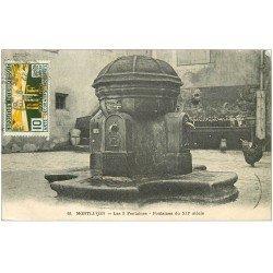 carte postale ancienne 03 MONTLUCON. Les 3 Fontaines 1925