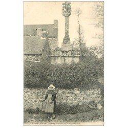 carte postale ancienne 22 SAINT-QUAY-PORTRIEUX. Calvaire de la Rue Loy