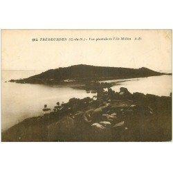 carte postale ancienne 22 TREBEURDEN. Ile Millau