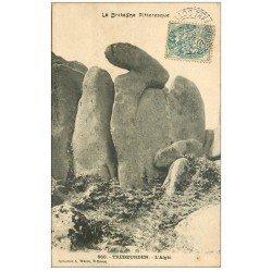 carte postale ancienne 22 TREBEURDEN. L'Aigle 1907