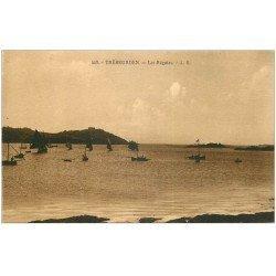 carte postale ancienne 22 TREBEURDEN. Les Régates 1932