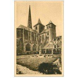 carte postale ancienne 22 TREGUIER. Cathédrale
