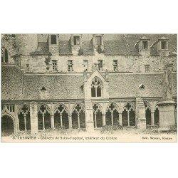 carte postale ancienne 22 TREGUIER. Cloître Couvent de Saint-Tugdual