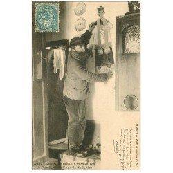 carte postale ancienne 22 TREGUIER. Un Imaigiert 1904. Les Petits métiers populaires