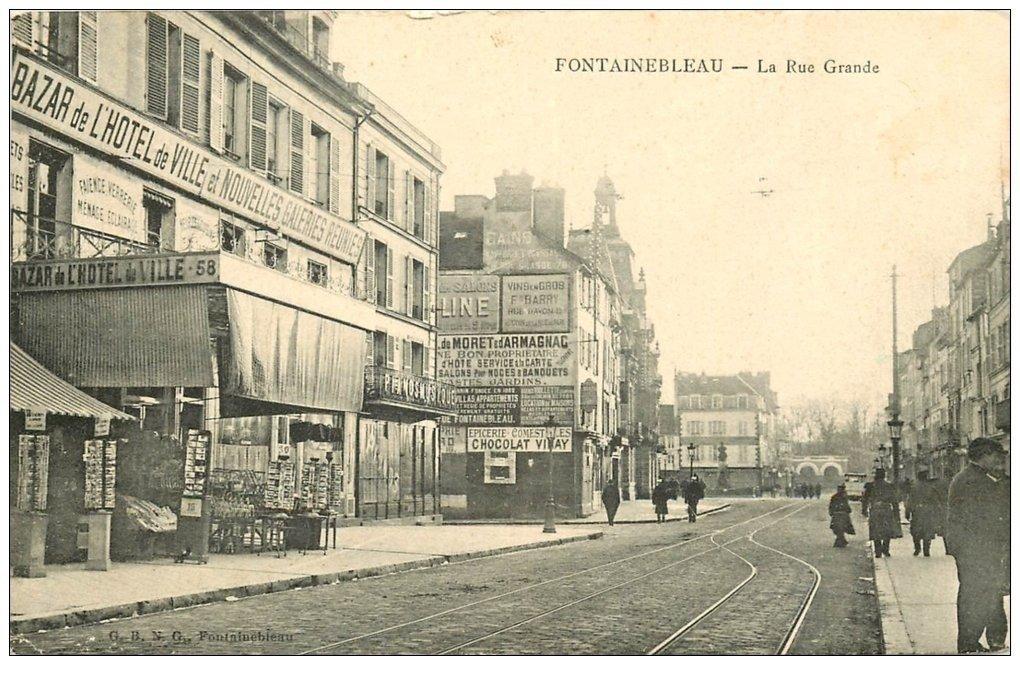 77 Fontainebleau  Bazar H U00f4tel De Ville Et Nouvelles