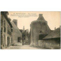 carte postale ancienne 03 MONTLUCON. Tour Fouquet