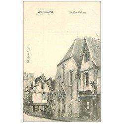 carte postale ancienne 03 MONTLUCON. Vieille Maison et restaurant