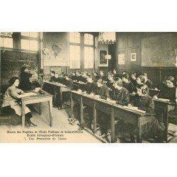 carte postale ancienne 77 AVON. Ecole des Pupilles Uruguay-France. Une Promotion de Classe. Impeccable et vierge