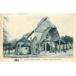 carte postale ancienne 77 AVON. FONTAINEBLEAU. L'Eglise
